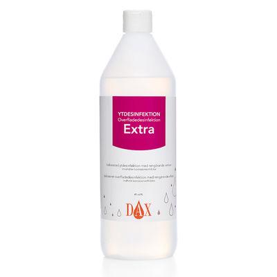 DAX yt och instrumentdesinfektion Extra med korrosionsinhibitor 1 liter /st