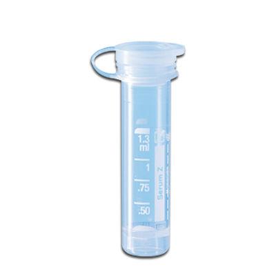 Preparerade Mikrorör med snäpplock ofärgade Serum 1,3 ml /100