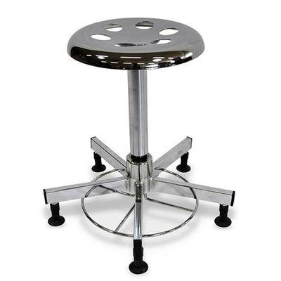 Operationsstol med gasfjäder och fotmanövrering utan hjul