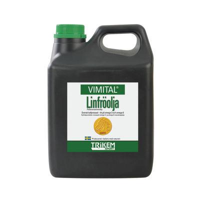 Vimital Linfröolja 2,5 liter /st