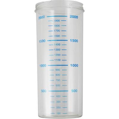 Behållare för engångspåse till elektrosug 2 liter utan lock /st