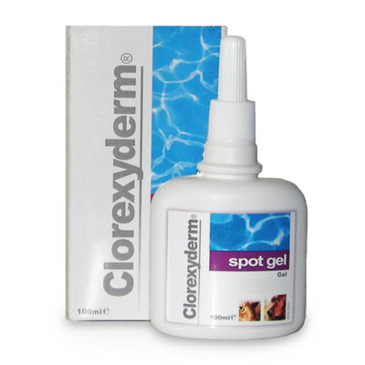 Clorexyderm spot gel 100 ml /st