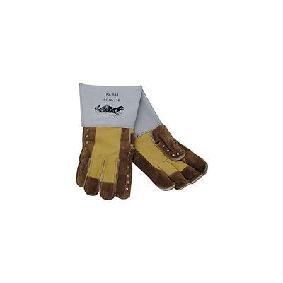 Katthandskar i läder one size /par