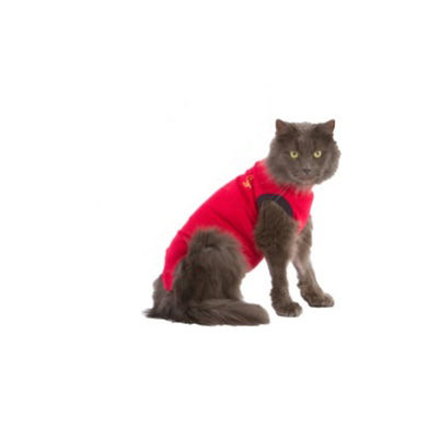 Medical Pet Shirt röd kattbody S /st