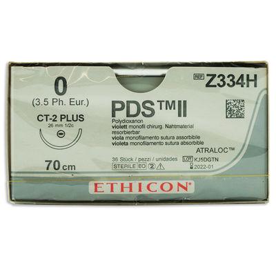PDS II Z334H lila 0 rund nål CT-2 70 cm /36