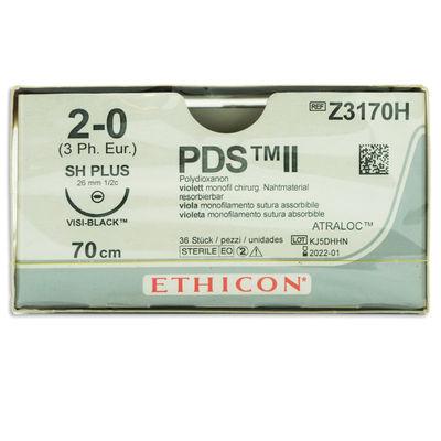 PDS II Z3170H lila 2/0 rund nål SH 70 cm /36