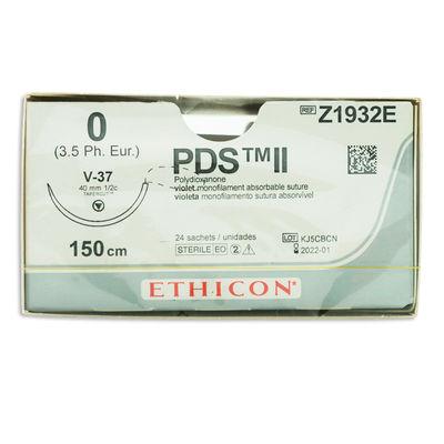 PDS II   Z1932E lila 0 tapercut nål V-37 150 cm /24