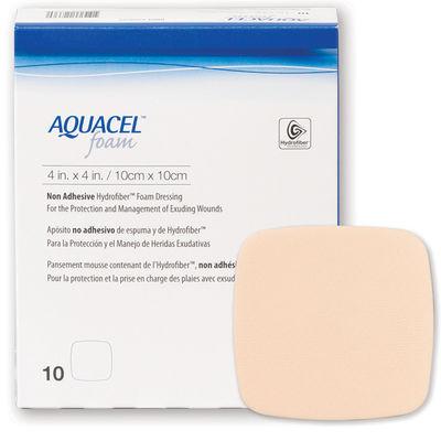 Aquacel Foam Icke Vidhäftande 10x10 cm /10