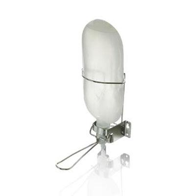 Hållare med armbågsmanövrering att montera på vägg till Dispensopack 1 liter