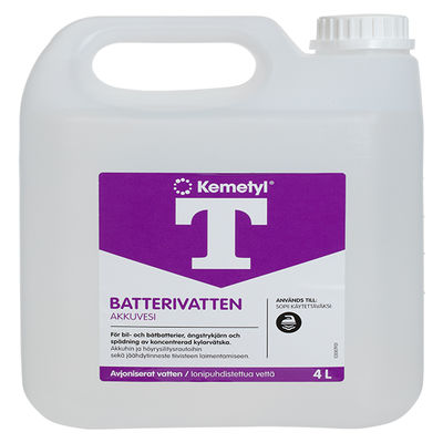 Batterivatten 4 liter