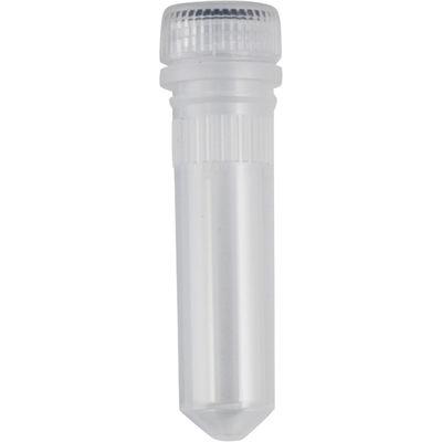Mikrorör med skruvlock 2 ml utan kjol /500