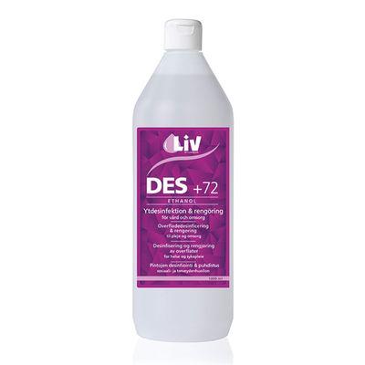 LIV ytdesinfektion Plus 72 1 liter /st