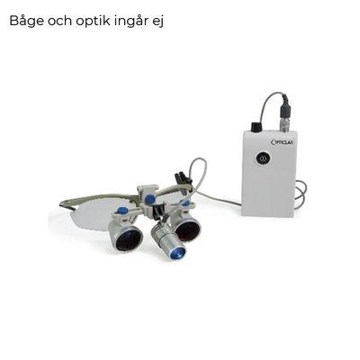 Förstoringsglasögon Opticlar Visionline Proline med LED ljus
