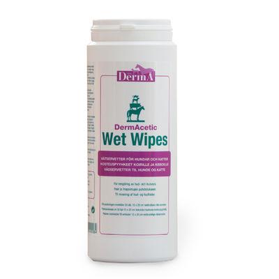 DermAcetic Wet Wipes /50