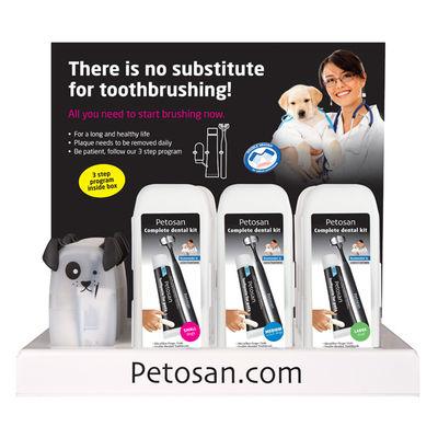 Komplett Displayställ Dentalpack Petosan