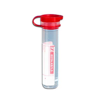 Preparerade Mikrorör med snäpplock EDTA 1,3 ml /100