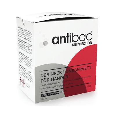 Antibac Våtervett för handdesinfektion /20