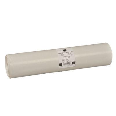 Plastsäck vit 125 liter /150