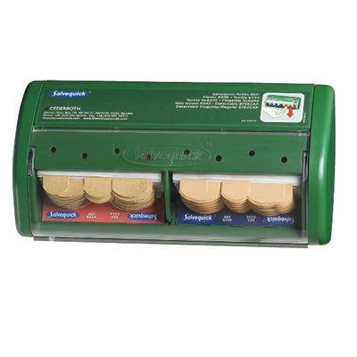Salvequick plåsterautomat inkl. plåster 40 st 6044 & 45 st 6036