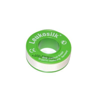 Leukosilk silkeshäfta 12 mmx9,2 m /24