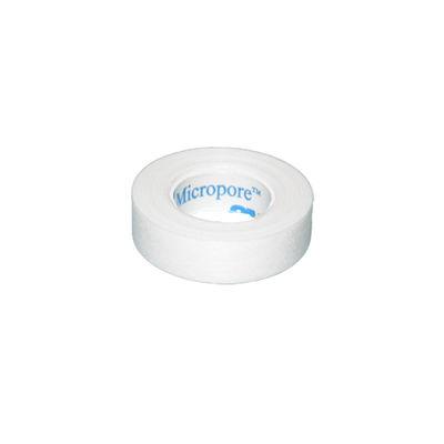 Micropore kirurgisk tejp utan hållare 12 mmx9,1 m /24