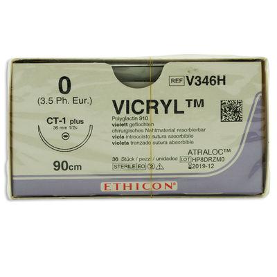 Vicryl V346H lila 0 taperpoint nål CT-1 90 cm /36