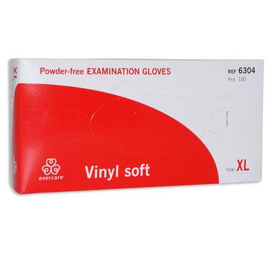 Vinyl undersökningshandske puderfri XL /100