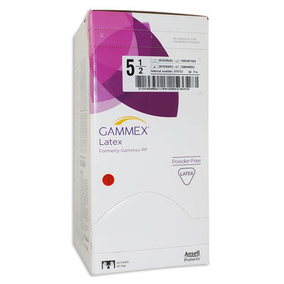 Gammex operationshandske steril puderfri stl 5,5 /50 par