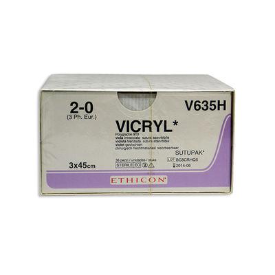 Vicryl Sutupak V635H lila 2/0 3x45 cm /36
