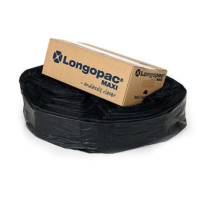 Longopac Maxi Standard Svart 110 m inkl. 130 st buntband /st