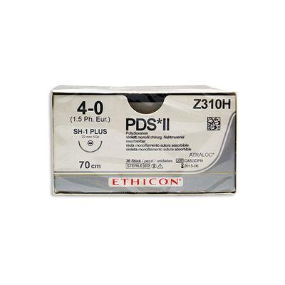 PDS II Z310H lila 4/0 rund nål SH-1 70 cm /36