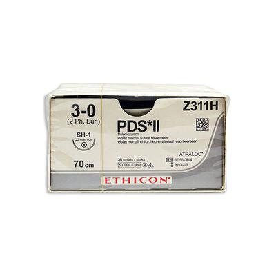 PDS II Z311H lila 3/0 rund nål SH 70 cm /36