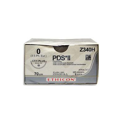 PDS II Z340H lila 0 rund nål CT-1 70 cm /36