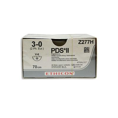 PDS II   Z277H lila 3/0 tapercut nål V-6 70 cm /36