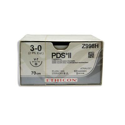 PDS II   Z998H lila 3/0 tapercut nål V-7 70 cm /36