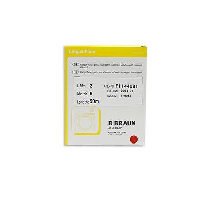 Catgut Plain Braun F1144081 ofärgad 2 50 m