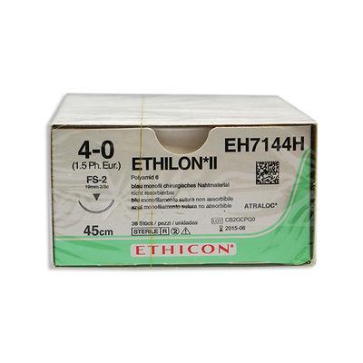 Ethilon II EH7144H blå 4/0 omvänt skärande nål FS-2 45 cm /36