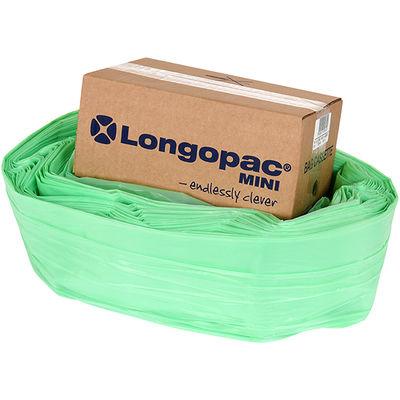 Longopac Biodegradable Mini  Grön 40 m inkl.  75 st buntband /st
