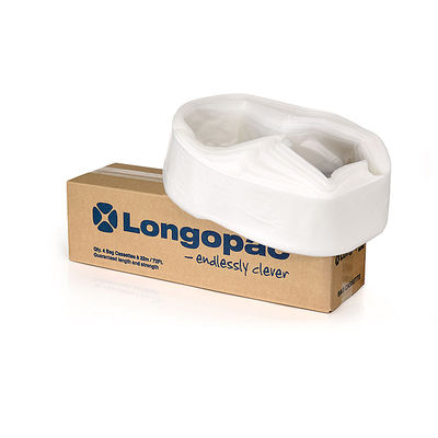 Longopac Mini Strong Transparent 45 m inkl. 75 st buntband   /st