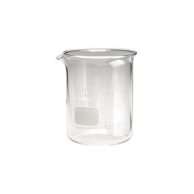 Glasbägare graderad låg 150 ml