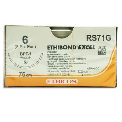 Ethibond Excel RS71G grön 6 omvänt skärande nål BPT-1 75 cm /12