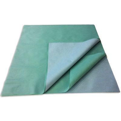 Packskynke / sterilpapper SMS blå/grön 120x120 cm /120