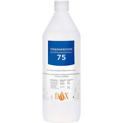 DAX ytdesinfektion 75 1 liter /st