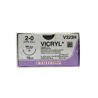 Vicryl V323H lila 2/0 taperpoint nål MH 70 cm /36