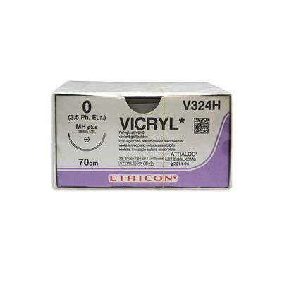 Vicryl V324H lila 0 taperpoint nål MH 70 cm /36