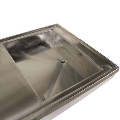 Tandbord med mekanisk tiltfunktion 55x160 cm