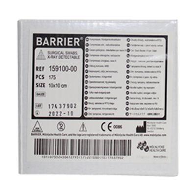 Dopptyg gasväv med röntgentråd 12-lagers osteril 10x10 cm /175