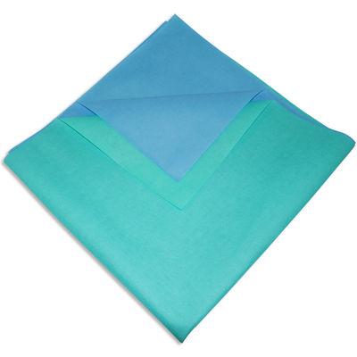 Packskynke / sterilpapper blå/grön Dextex 100x100 cm /200