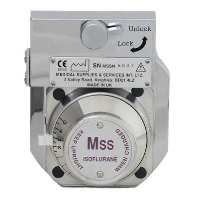 Förgasare MSS Tec 3 med Selectateckoppling för Isofluran & Keyfill