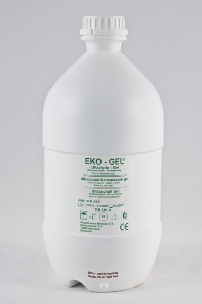 Ultraljudsgel Eko-gel 2,5 liter/st